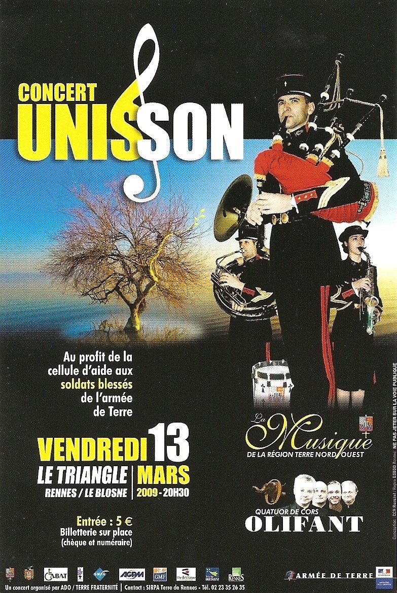 Concert unisson
